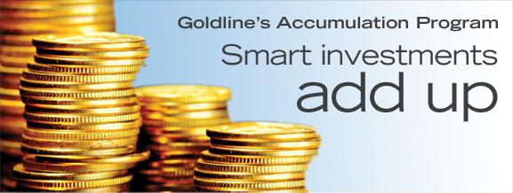 Goldline's Accumulation Program